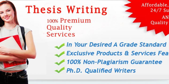 Professional Thesis Writing Services in UK